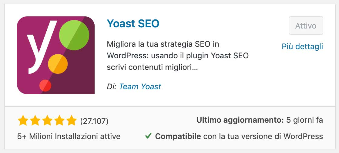 Yoast SEO Sitemap