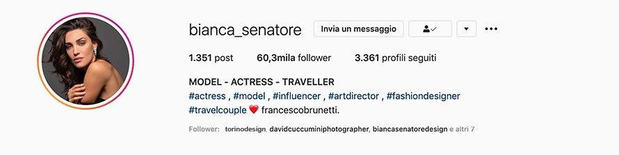 Bianca Senatore Travel Influencer