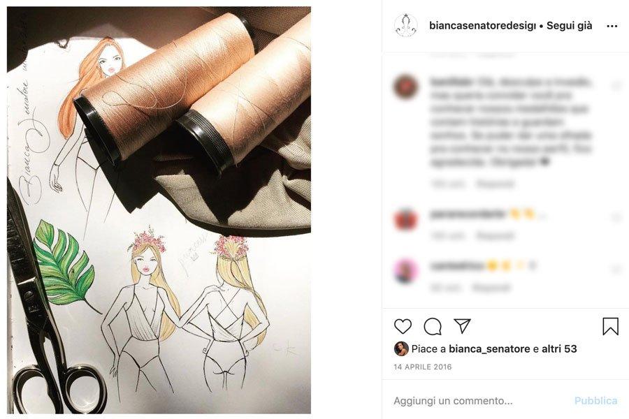 Bianca Senatore design