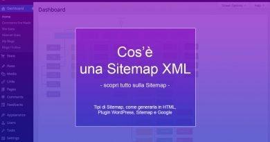 Cos'è una Sitemap XML