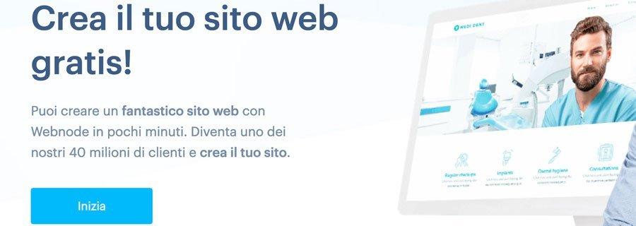 crea sito web gratis