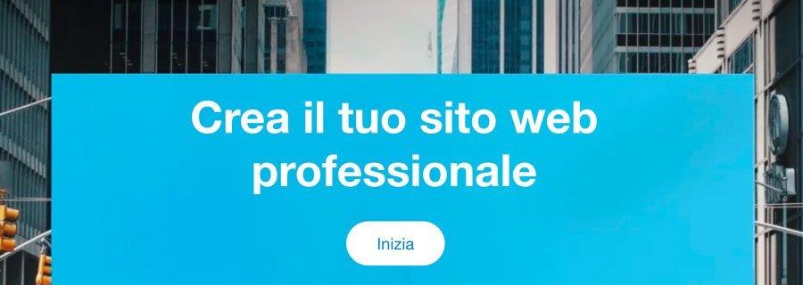 creare un sito web professionale