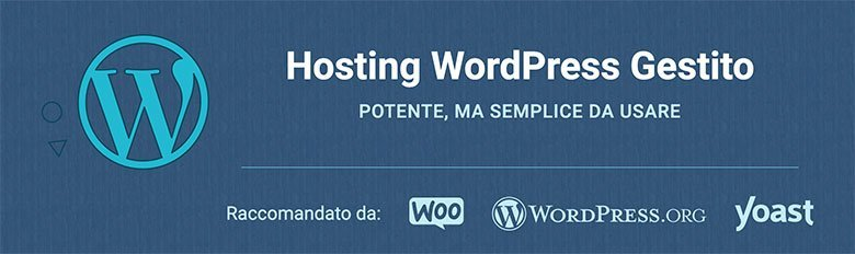 Hosting WordPress Gestito
